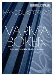 Varma Boken Handdukstorka - Duschbyggarna