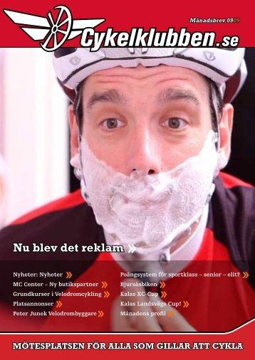 Nu blev det reklam - Cykelklubben.se