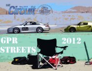 May 2012 Circuit - Grand Prix Region