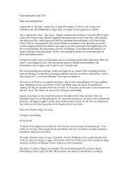 Nationaldagstal 6 juni 2011 Kära nationaldagsfirare! - Vikens Kultur ...
