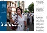 Gretta Duisenberg - Magazines & Motivatie