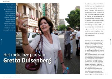Gretta Duisenberg - Magazines & Motivatie