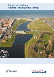 Zicht op een zeejachthaven Verkenning aanleg ... - Gemeente Katwijk