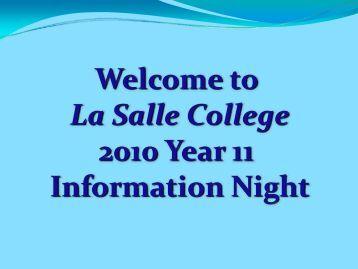 ATAR - La Salle College