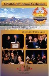 URMIA's 44th Annual Conference