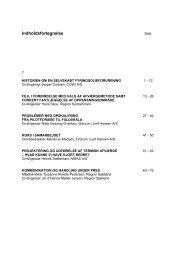 Indholdsfortegnelse - ATV Jord og Grundvand