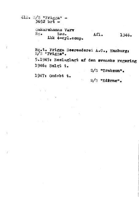 Hansaprogrammet 2. Verdenskrig
