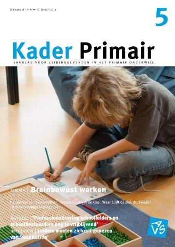 Kader Primair 5 (2012-2013) - Avs