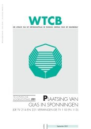 plaatsing van glas in sponningen - dv WINDOWS bvba