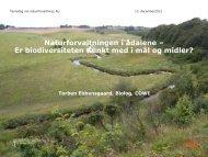 Naturforvaltningen i ådalene – Er biodiversiteten tænkt med i mål og ...