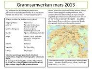 information från närpolisen mars 2013