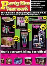 Bekijk de folder! - Party Max Vuurwerk