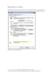Certificaat beveiligen met een wachtwoord