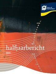 Halfjaarbericht 2008 - Port of Rotterdam