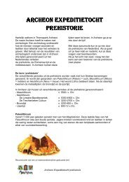 Archeon Expeditietocht Prehistorie.pdf