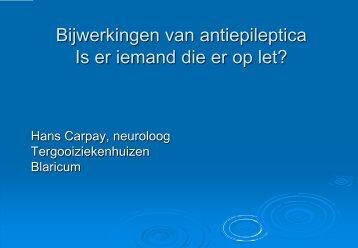 Bijwerkingen en epilepsie - Carpay