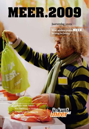 Jaarverslag 2009 - Stichting De Omslag