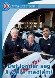 Det lønner seg å være medlem! - Norges Taxiforbund
