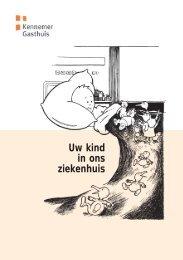 Uw kind in ons ziekenhUis - Kennemer Gasthuis