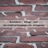Alkohol- Drog- och Brottsförebyggande Program - Umeå kommun
