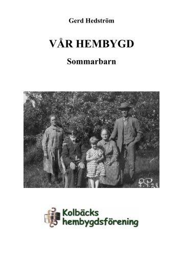 Sommarbarn - Kolbäcks hembygdsförening