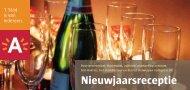 Nieuwjaarsreceptie - district Antwerpen - Stad Antwerpen