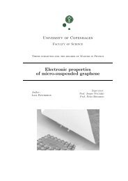 Electronic properties of micro-suspended graphene