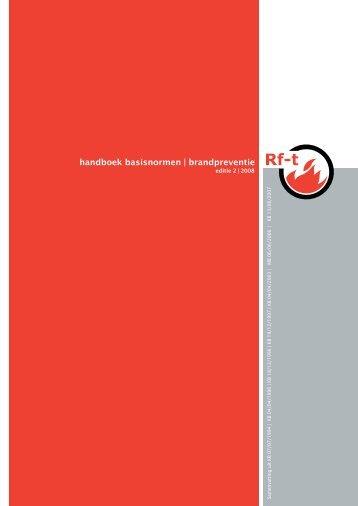 handboek basisnormen | brandpreventie - Rf-Technologies
