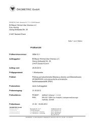ÖKOMETRIC GmbH - Blauer Himmel über Ilmenau