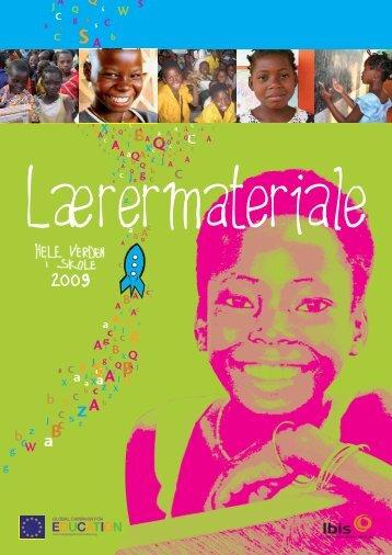 Lærermateriale 2009 - Hele Verden i Skole