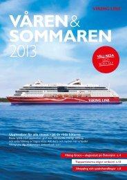 Upplevelser för alla sinnen – på de röda båtarna! Välj ... - Viking Line