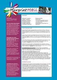 Margriet M@il augustus 2012 - Scholengroep Veluwezoom