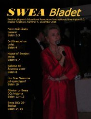 Nr 4/2006 - SWEA International