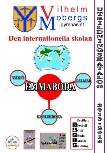 Utbildningskatalog 2013/14 - Emmaboda kommun
