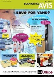 BRUG FOR VAND? - Scan Office