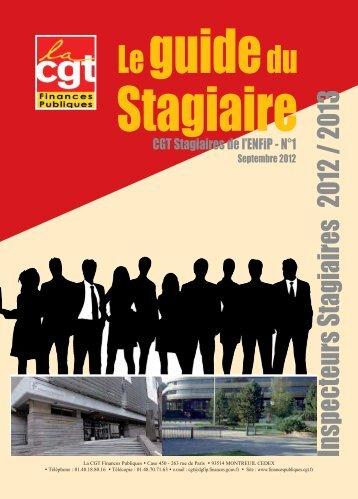 Inspecteurs Stagiaires 2012 /2013 - Syndicat CGT des Finances ...