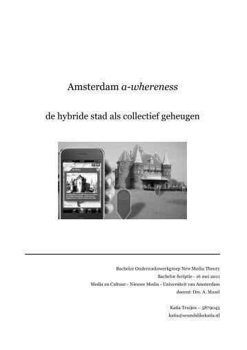 scriptie pdf - Get a Free Blog