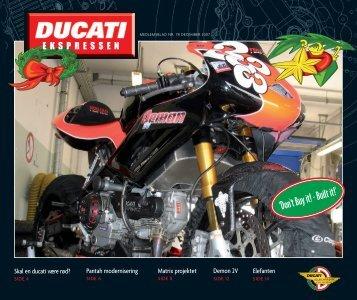 Ducatiklubben nr 78.qxp - Ducati Klub Danmark