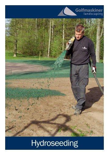 Sprutsådd - Golfmaskiner