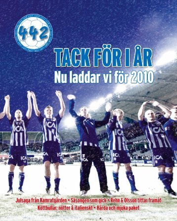 December 2009 - IFK Göteborg