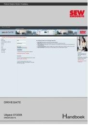 DriveCAD - SEW Eurodrive
