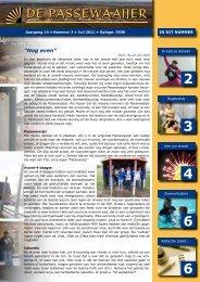 De Passewaaijer juli 2011 - Wijkvereniging Passewaaij