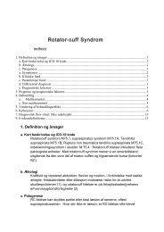 Klinisk retningslinie - Dansk Reumatologisk Selskab