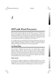DTP with Word Processors