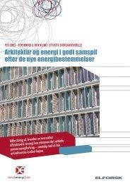 Pjece om arkitektur og energiforbrug - Videncenter for ...