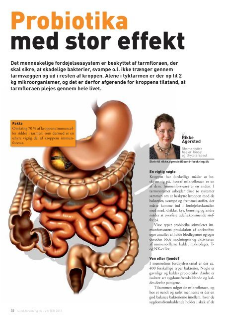 Sund Forskning Februar 2012 - Nanna Stigel