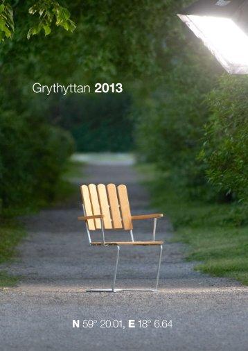 Katalog (pdf) - Grythyttan Stålmöbler