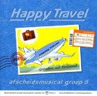 Happy travel, tekstboek - XYmail.nl