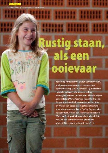 Balans magazine augustus/september 2011 - SBO Beyaert