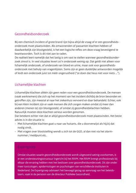 Communiceren over milieu-incidenten - Nederlands Genootschap ...